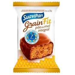 Pão de Mel Integral Grain Fit Display 10 x 35g - 1... - Fitoflora Produtos Naturais