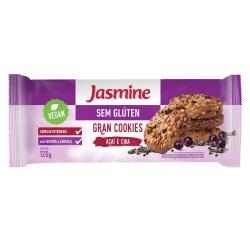 Gran Cookies Açaí e Chia Vegan 120g - 17935 - Fitoflora Produtos Naturais