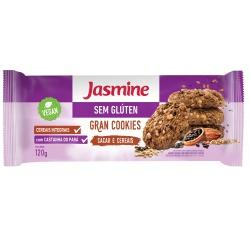 Gran Cookies Cacau e Cereais Sem Glúten Vegan 120g... - Fitoflora Produtos Naturais