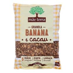 Granola Caseira Banana E Cacau 250g - 12480 - Fitoflora Produtos Naturais