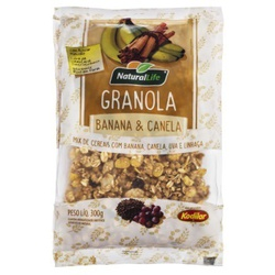 Granola Banana e Canela 300g - 16044 - Fitoflora Produtos Naturais