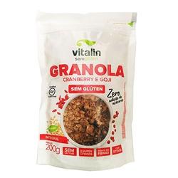 Granola Cranberry e Goji Integral 200g - 16840 - Fitoflora Produtos Naturais