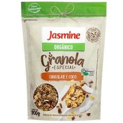 Granola Orgânica Chocolate e Coco 200g - 17934 - Fitoflora Produtos Naturais