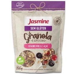 Granola Cranberries e Açaí Sem Glúten Vegan 250g -... - Fitoflora Produtos Naturais