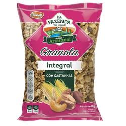 Granola com Castanhas Integral 1kg - 16222 - Fitoflora Produtos Naturais
