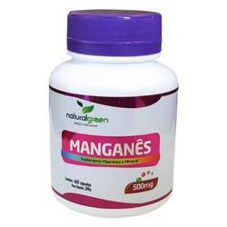 Manganês 40 cápsulas x 500mg - 15333 - Fitoflora Produtos Naturais