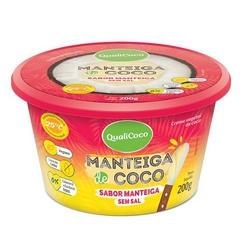 Manteiga de Coco Sabor Manteiga Sem Sal 200g - 165... - Fitoflora Produtos Naturais