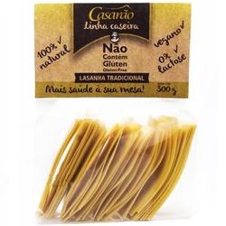 Massa de Arroz Caseira Tradicional Lasanha 300g - ... - Fitoflora Produtos Naturais
