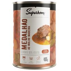 Medalhão Vegetariano ao Molho Madeira 400g - 13510 - Fitoflora Produtos Naturais