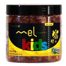 Mel Nobreflora Kids Orgânico 250 sachês x 4g - 175... - Fitoflora Produtos Naturais