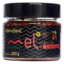 Mel Nobreflora com Nibs de Cacau Orgânico 200g - 1... - Fitoflora Produtos Naturais