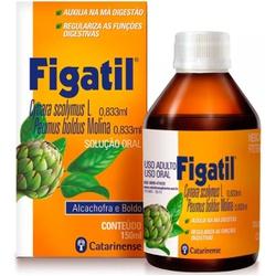 Figatil Alcachofra / Boldo 150ml - 17117 - Fitoflora Produtos Naturais