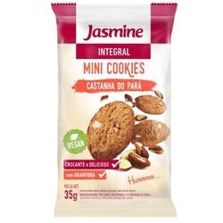 Mini Cookies Integral Castanha-do-Pará Display 12x... - Fitoflora Produtos Naturais