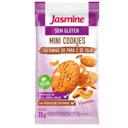 Mini Cookies Castanha-do-Pará Sem Glúten Display 1... - Fitoflora Produtos Naturais