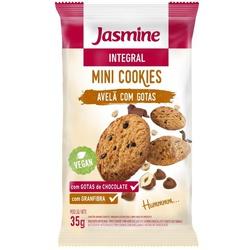 Mini Cookies Integral Avelã com Gotas Display 12x3... - Fitoflora Produtos Naturais
