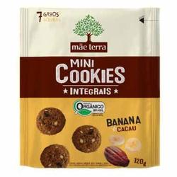 Mini Cookies Integrais Orgânicos Banana e Cacau 12... - Fitoflora Produtos Naturais