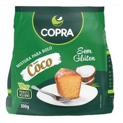 Mistura Para Bolo Sabor Coco 300g - 17278 - Fitoflora Produtos Naturais