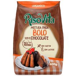 Mistura Para Bolo Sabor Chocolate 400g - 16393 - Fitoflora Produtos Naturais