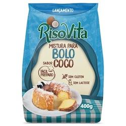 Mistura Para Bolo Sabor Coco 400g - 16394 - Fitoflora Produtos Naturais