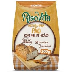 Mistura Para Pão com Mix de Grãos 300g - 16396 - Fitoflora Produtos Naturais