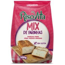 Mix de Farinhas 500g - 16398 - Fitoflora Produtos Naturais