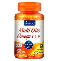 Multi Oils Ômega 3-6-9 Chia, Cártamo e Coco 60 cap... - Fitoflora Produtos Naturais