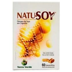 Natu Soy Gérmen de Soja 60caps x 600mg - 11216 - Fitoflora Produtos Naturais