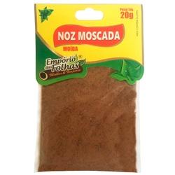 Noz Moscada Moída 20g - 16183 - Fitoflora Produtos Naturais
