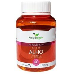 Óleo de Alho 60 cápsulasx250mg - 15388 - Fitoflora Produtos Naturais