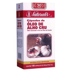 Óleo de Alho 100caps x 250mg - 4809 - Fitoflora Produtos Naturais