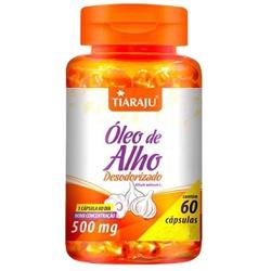 Óleo de Alho Desodorizado 60 caps x 500mg - 14539 - Fitoflora Produtos Naturais