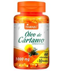 Óleo de Cártamo 60 caps x 1000 mg - 14542 - Fitoflora Produtos Naturais