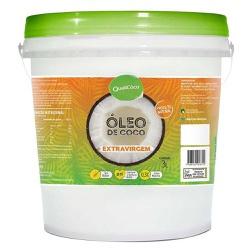 Óleo de Coco Extra Virgem Balde 3 Litros - 15490 - Fitoflora Produtos Naturais