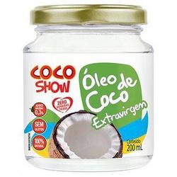 Coco Show Óleo de Coco Extra Virgem 200ml - 16578 - Fitoflora Produtos Naturais