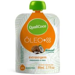 Óleo de Coco Extravirgem Sachê 80ml - 17944 - Fitoflora Produtos Naturais