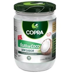 Óleo de Coco Sem Sabor 500ml - 16114 - Fitoflora Produtos Naturais