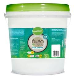 Óleo de Coco Sem Sabor Balde 3 litros - 15848 - Fitoflora Produtos Naturais