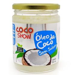 Óleo de Coco Sem Sabor Coco Show Veg 500ml - 17377 - Fitoflora Produtos Naturais