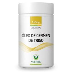 Óleo de Germen de Trigo 60caps x 250mg - 11336 - Fitoflora Produtos Naturais