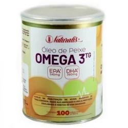 Óleo de Peixe Ômega 3 100caps x 1000mg - 4832 - Fitoflora Produtos Naturais