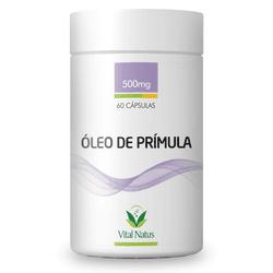 Óleo de Prímula 60 x 500mg - 11345 - Fitoflora Produtos Naturais