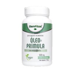 Óleo de Prímula Vegana 30 x 500mg - 17297 - Fitoflora Produtos Naturais