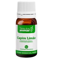 Óleo Essencial Puro Capim Limão 7ml - 18171 - Fitoflora Produtos Naturais