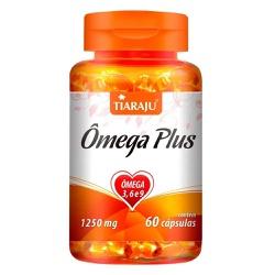 Ômega Plus 60caps x 1250mg - 13137 - Fitoflora Produtos Naturais