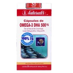Ômega 3 DHA 500tg 30 x 1000mg - 15839 - Fitoflora Produtos Naturais