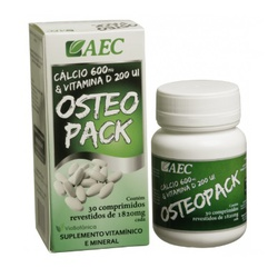 Osteopack (Cálcio + Vit. D) 30 comprimidos - 73 - Fitoflora Produtos Naturais