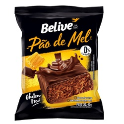 Pão de Mel Belive Display 10x45g - 16349 - Fitoflora Produtos Naturais