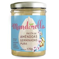 Pasta de Amêndoas Germinadas Mandorella 170g - 175... - Fitoflora Produtos Naturais