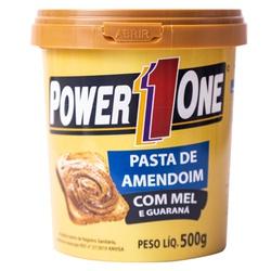 Pasta de Amendoim com Mel e Guaraná 500g - 16884 - Fitoflora Produtos Naturais