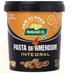 Pasta de Amendoim Integral 450g - 17272 - Fitoflora Produtos Naturais